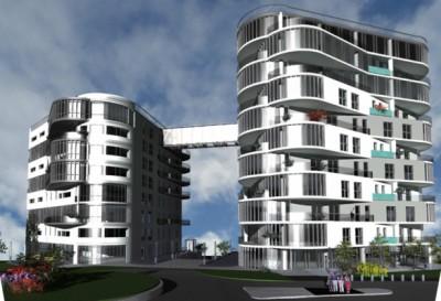 Коммерческое предложение по инвестированию в строительство жилого комплекса «Двойной Треугольник» г. Карловы Вары, Чехия.